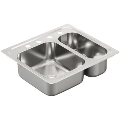 2000 Series 26 x 23 2 Drop-In Kitchen Sink