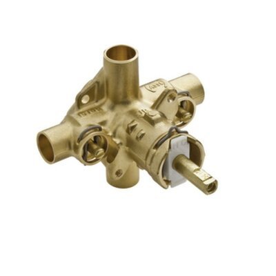 M-Pact Posi-Temp IPS Connection Pressure Balancing Valve with Satefy Stops