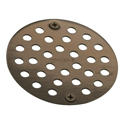 Moen� 4 Grid Shower Drain Finish: Oil Rubbed Bronze