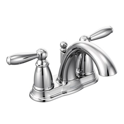 Brantford Two Handle Centerset Bathroom Faucet Finish: Chrome
