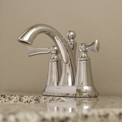 Wynford Centerset Faucet Finish: Chrome