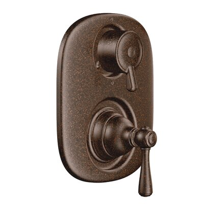 Kingsley Moentrol  Thermostatic Faucet Trim with Metal Push Button Handle Finish: Oil Rubbed Bronze