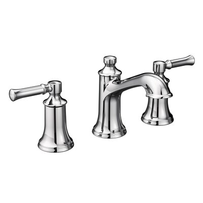 Dartmoor Bathroom Faucet Double Handle Finish: Chrome