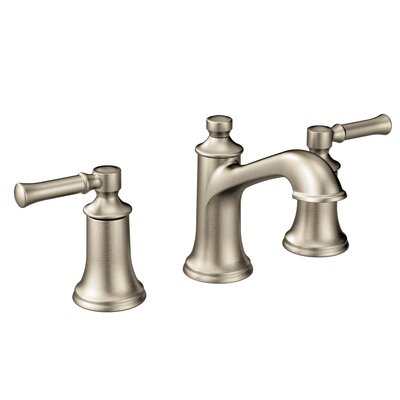 Dartmoor Bathroom Faucet Double Handle Finish: Brushed Nickel