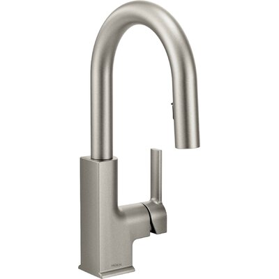 STo Pull Down Single Handle Kitchen Faucet Finish: Spot Resist Stainless