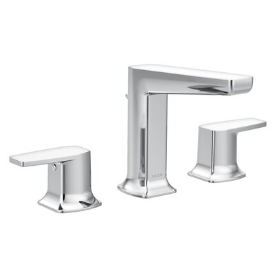 Via Standard Bathroom Faucet Double-Handle Lever
