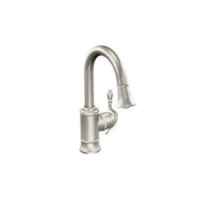 Woodmere Single Handle Pull Down Bar Faucet