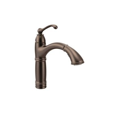 Brantford Single Handle Pull Out Kitchen Faucet Finish: Oil Rubbed Bronze