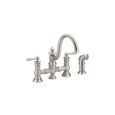 Waterhill Bar Faucet with Side Spray