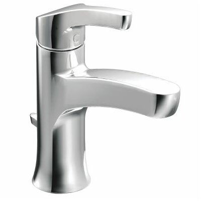 Danika Single Handle Bathroom Faucet Finish: Chrome