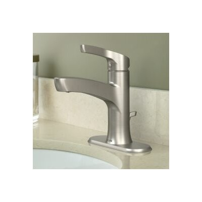 Danika Single Handle Bathroom Faucet Finish: Brushed Nickel