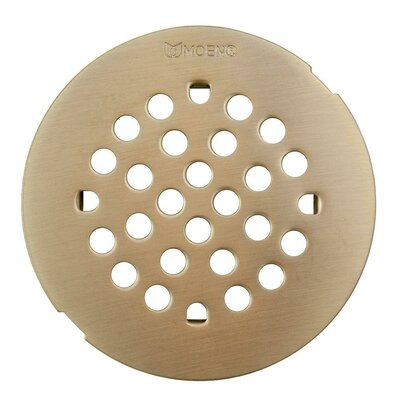 Kingsley 4.25 Grid Shower Drain Finish: Oil Rubbed Bronze, Installation: Snap-In