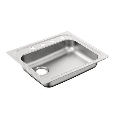 2000 Series 30.3 x 24 Single Bowl Drop In Kitchen Sink