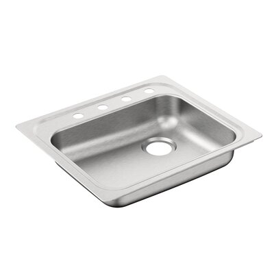 2000 Series 30.3 x 24 Single Bowl Drop In Kitchen Sink
