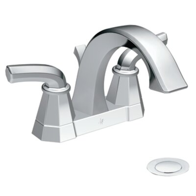 Felicity High Arc Centerset Bathroom Faucet Finish: Chrome