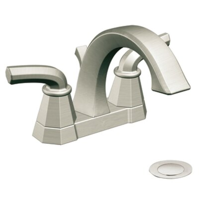 Felicity High Arc Centerset Bathroom Faucet Finish: Brushed Nickel