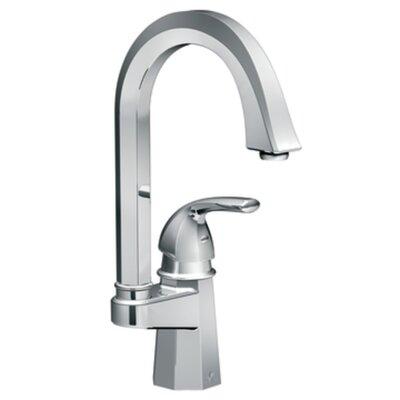 Felicity Single handle Single Hole Single Mount Bar Faucet Finish: Chrome