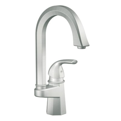 Felicity Single handle Single Hole Single Mount Bar Faucet Finish: Classic Stainless Steel