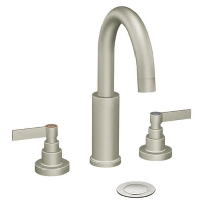 Solace Double Handle Widespread Bathroom Faucet Finish: Chrome