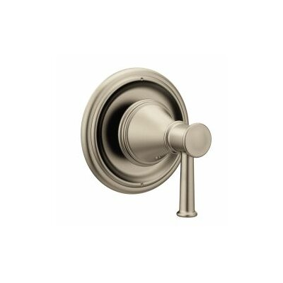 Belfield Transfer Valve Faucet Trim with Lever Handle Finish: Brushed Nickel