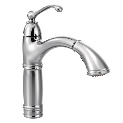 Brantford Pull Out Bar Faucet Finish: Chrome