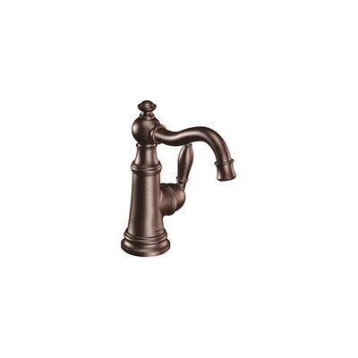 Weymouth Single Handle Single Hole Bathroom Faucet Finish: Oil Rubbed Bronze