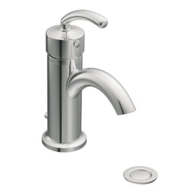 ICON Single Handle Single Hole Low Arc Bathroom Faucet Finish: Chrome