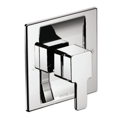 90 Degree Posi-Temp Faucet Trim with Lever Handle Finish: Chrome