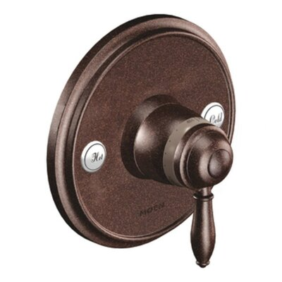 Weymouth Exacttemp Faucet Trim  with Lever Handle Finish: Oil Rubbed Bronze
