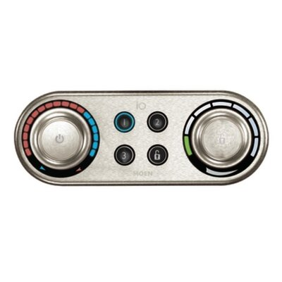 IO Digital Roman Tub Control Finish: Brushed Nickel