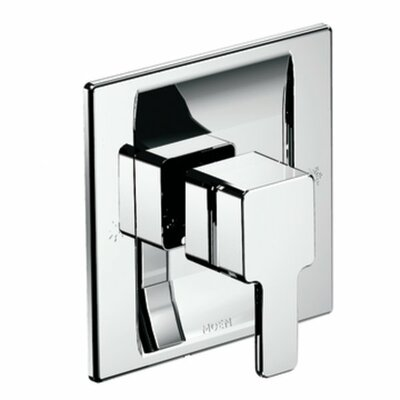 90 Degree Moentrol Shower Faucet Trim with Lever Handle Finish: Chrome