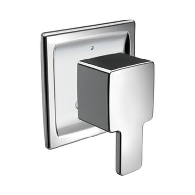 90 Degree Transfer Tub and Shower Faucet Trim Finish: Chrome