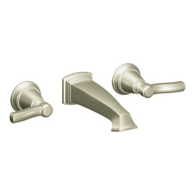 Rothbury Double Handle Wall Mount Bathroom Faucet Finish: Chrome