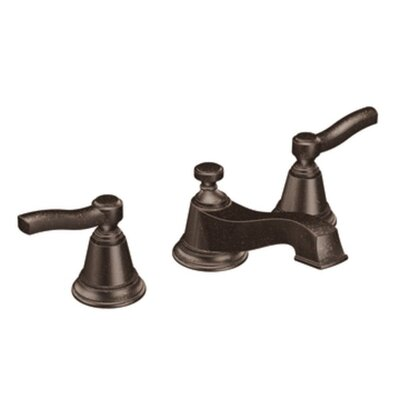 Rothbury Double Handle Widespread Low Arc Bathroom Faucet Finish: Oil Rubbed Bronze