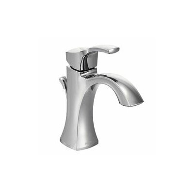 Voss Single Handle Centerset High Arc Bathroom Faucet with Optional Pop-Up Drain Finish: Chrome