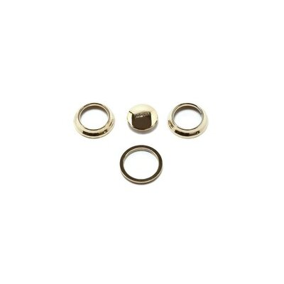 Monticello Inspirations Accent Ring Finish: Polished Brass