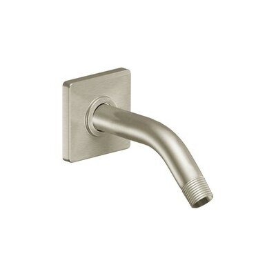 90 Degree Shower Arm Finish: Brushed Nickel