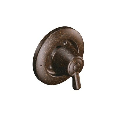Moen� Transfer Valve Faucet Trim with Lever Handle Finish: Oil Rubbed Bronze