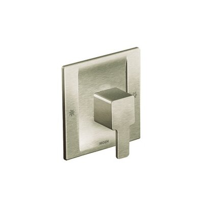 90 Degree Posi-Temp Faucet Trim with Lever Handle Finish: Brushed Nickel