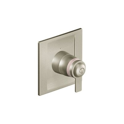 90 Degree Exact Temp Faucet Trim with Lever Handle Finish: Brushed Nickel