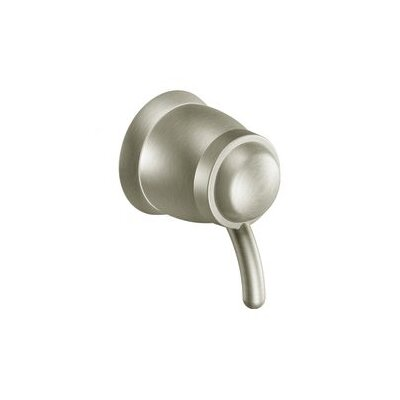 Icon Volume Control Faucet Trim with Lever Handle Finish: Brushed Nickel