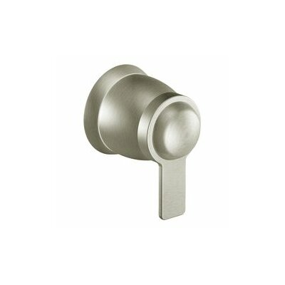 90 Degree Volume Control Faucet Trim with Lever Handle Finish: Chrome