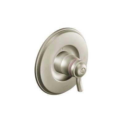 Rothbury Exact Temp Faucet Trim with Lever Handle Finish: Brushed Nickel