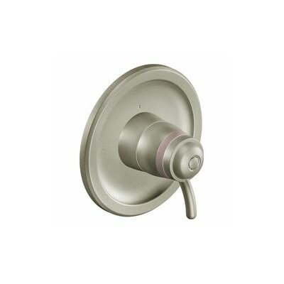 Icon Exact Temp Faucet Trim with Lever Handle Finish: Brushed Nickel