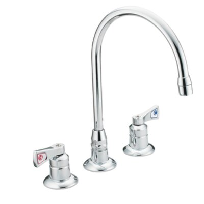 M-Dura Widespread Bathroom Faucet with Cold and Hot Handles