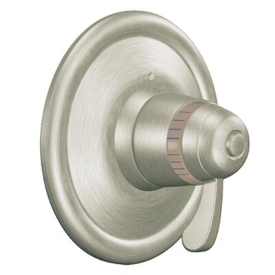 Exacttemp Thermostatic Faucet Trim with Lever Handle Finish: Brushed Nickel