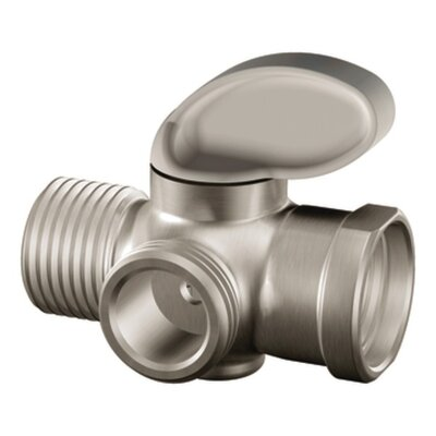 M-Pact Shower Arm Diverter Finish: Brushed Nickel