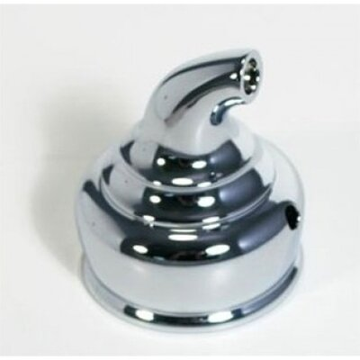 Monticello Handle Hub with Adaptor for Monticello Posi-Temp Handle Finish: Platinum
