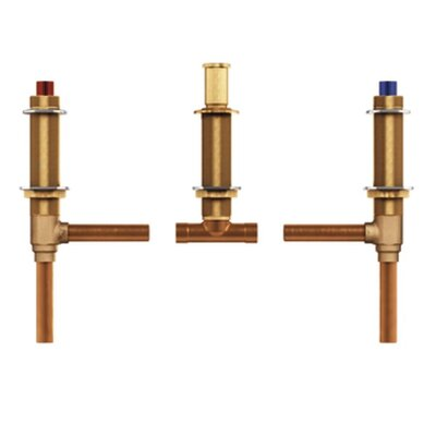 M-Pact Two Handle Roman Tub Valve Adjustable 1/2 CC Connection