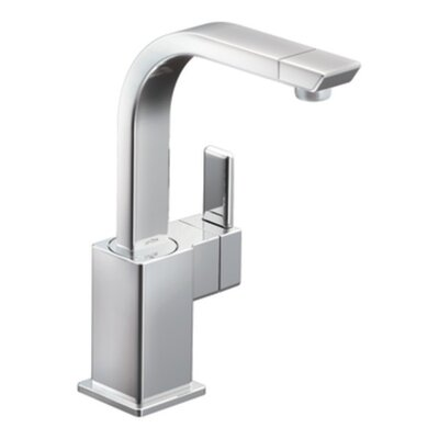 90 Degree Single Handle Bar Faucet Finish: Chrome